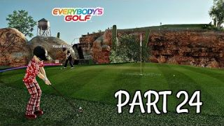 Let's Play Everybody's Golf Part 24 - The Rage Quit | PS4 Pro Gameplay