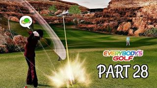 Let's Play Everybody's Golf Part 28 - New Secret VS Character | PS4 Pro Gameplay