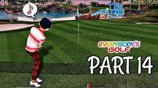 Let's Play Everybody's Golf Part 14 - Bronze Competition No. 1 | PS4 Pro Gameplay