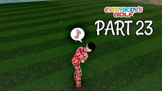 Let's Play Everybody's Golf Part 23 - Rank 5 Final Boss | PS4 Pro Gameplay