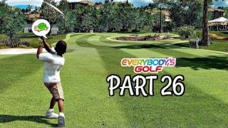 Let's Play Everybody's Golf Part 26 - First Rank 6 Boss | PS4 Pro Gameplay