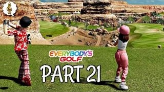 Let's Play Everybody's Golf Part 21 - Gold Comp & Vs Nicole | PS4 Pro Gameplay