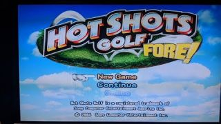 Starting from the beginning! - Hot Shots Golf FORE #1 [Live]