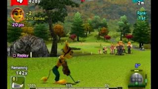 Ratchet Gameplay in Hot Shots Golf Fore!