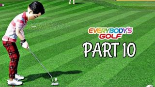 Let's Play Everybody's Golf Part 10 - Alpina Forest | PS4 Pro Gameplay