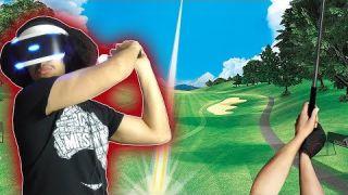 PSVR - Everybody's Golf VR is INCREDIBLE!