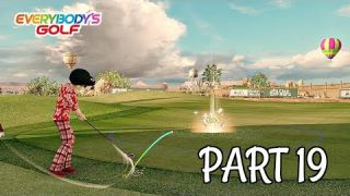 Let's Play Everybody's Golf Part 19 - Vortex Valley | PS4 Pro Gameplay