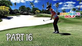Let's Play Everybody's Golf Part 16 - MY BEST ROUND | PS4 Pro Gameplay