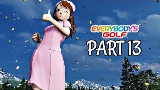 Let's Play Everybody's Golf Part 13 - Lena & Rank 4 | PS4 Pro Gameplay