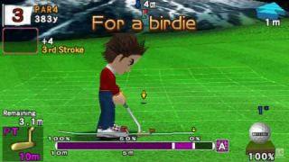 Hot Shots Golf: Open Tee PSP Gameplay HD