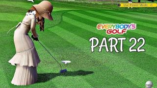 Let's Play Everybody's Golf Part 22 - Secret Vs Character | PS4 Pro Gameplay