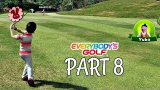 Let's Play Everybody's Golf Part 8 - Apex vs Takamori | PS4 Pro Gameplay