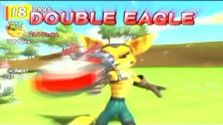 Hot Shots Golf Fore - All Eagle Animations!
