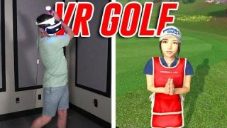 PLAYING GOLF IN VR - Everybody's Golf Part 1
