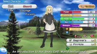 An Introduction to Hot Shots Golf: World Invitational [PSVita]