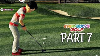 Let's Play Everybody's Golf Part 7 - FIRST HOLE IN ONE | PS4 Pro Gameplay